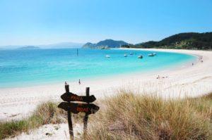 Praia de rodas Galicia